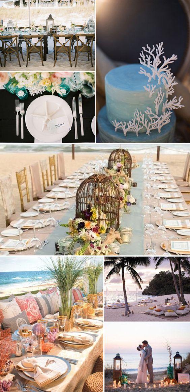 Decoraci n para bodas en la playa crbye magazine for Decoracion en bodas 2016